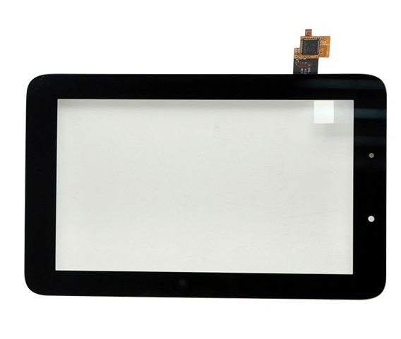 """5PCs/lot Original 7"""" Lenovo IdeaTab A2107 A2207 Tablet touch screen LCD digitizer panel Sensor Glass Replacement Free Shipping(China (Mainland))"""