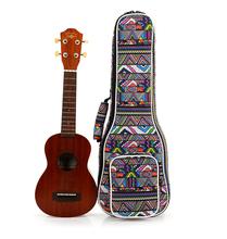 Free Shipping High Quality 21 inch soprano 23 inch concert Padded Ukulele Bags Ukulele Soft Gig Bags Small Guitar Cases(China (Mainland))
