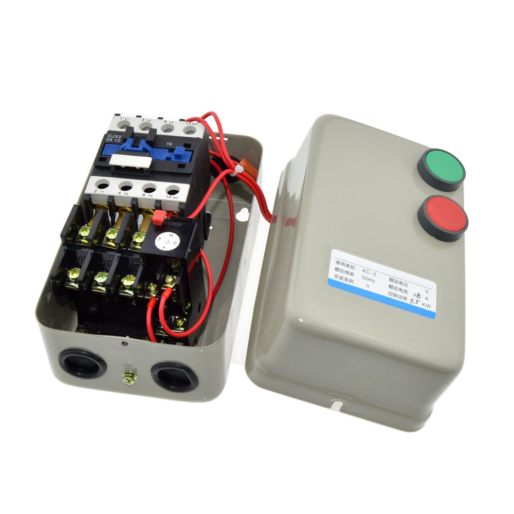 110V Coil Voltage AC Contactor 7.5KW / 10HP Power 14-22A Current Three Phase Magnetic Starter Motor Controller<br><br>Aliexpress