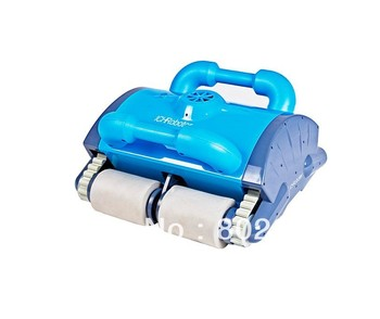 Pool automatic cleaner  With Spot Cleaning, Wall Climbing+Remote Controller+15m Cable+Working Area:100m2-200m2