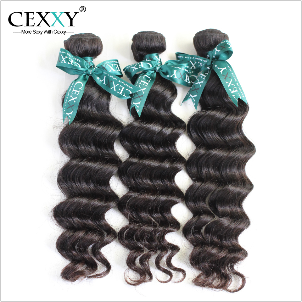 YouTube Recommended Cexxy Brazilian Virgin Hair Natural Wave 3PCS/LOT Free Domestic Delivery(China (Mainland))