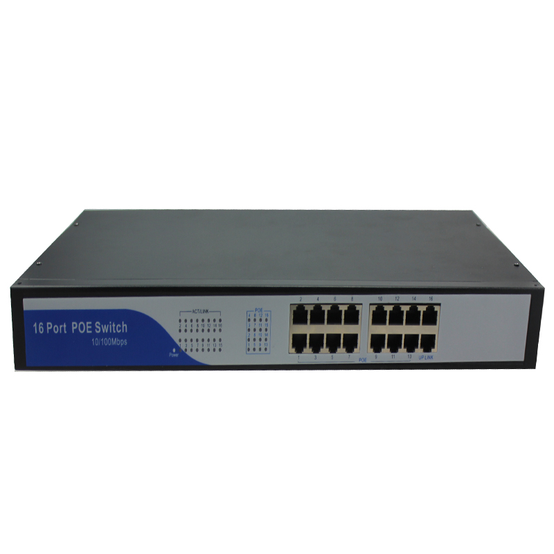 network switches manufacturer company IEEE802.3af poe switch 16 port network switches poe 150W power supply for IP cameras(China (Mainland))