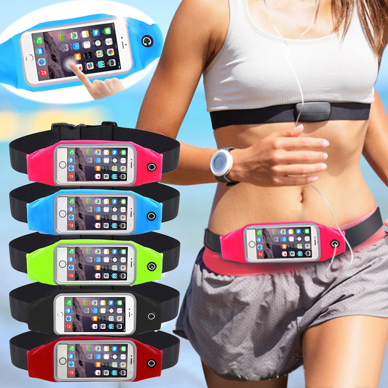 Capa 4.7' Outdoor Cases PVC Waterproof Waist Travel Sport Running Belt Wallet Pouch For iPhone 5 5s 6 6s Sport Hiking Bag(China (Mainland))