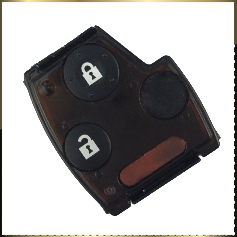 2 buttons remote replacement keyless car key fob cover for for Honda replacement key cost