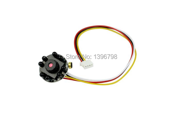 Surveillance Mini Night Vision Camera HD 700TVL 5MP 8 IR LED Security CCTV Micro HD Video Audio Pinhole Camera(China (Mainland))