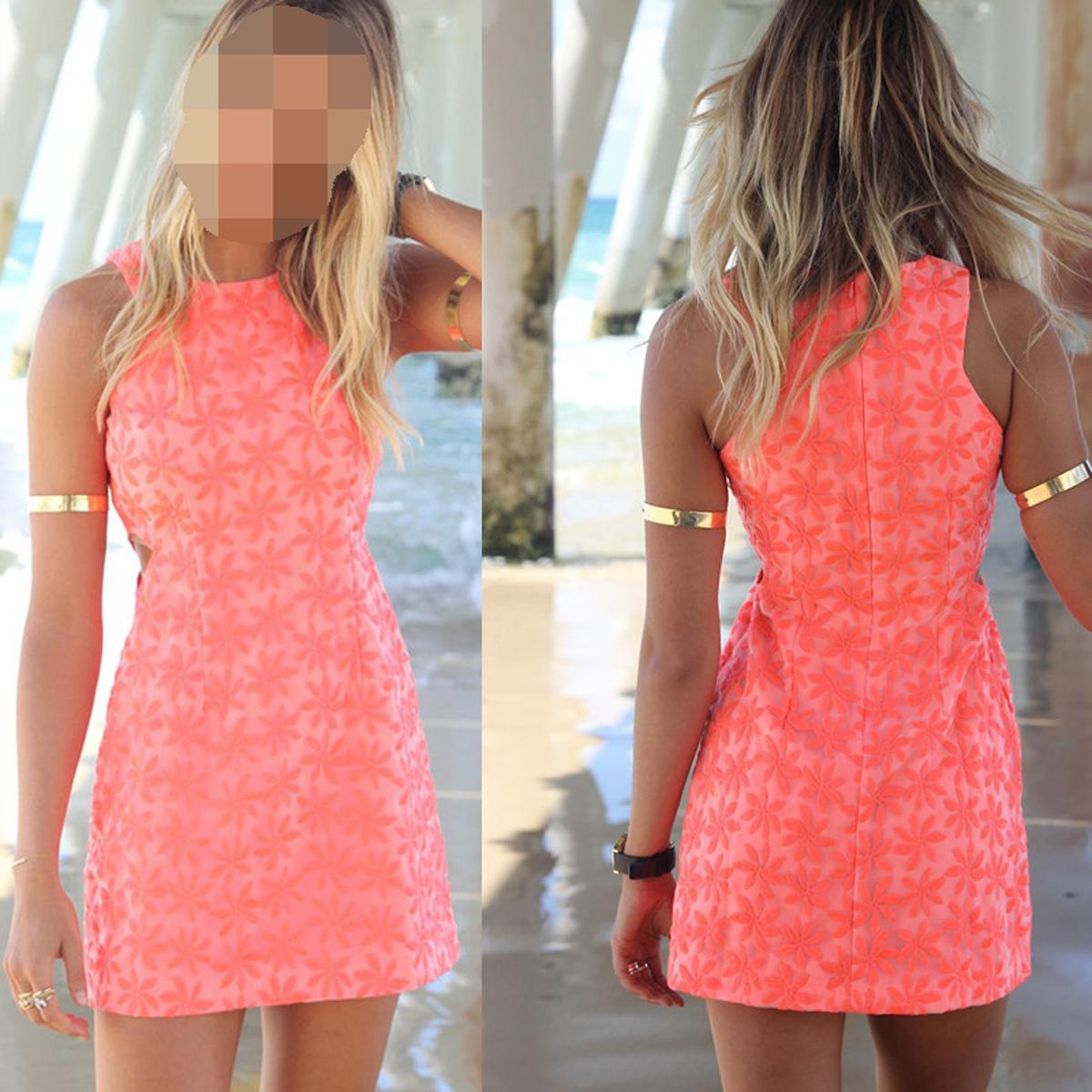 Платье короткое на лето
