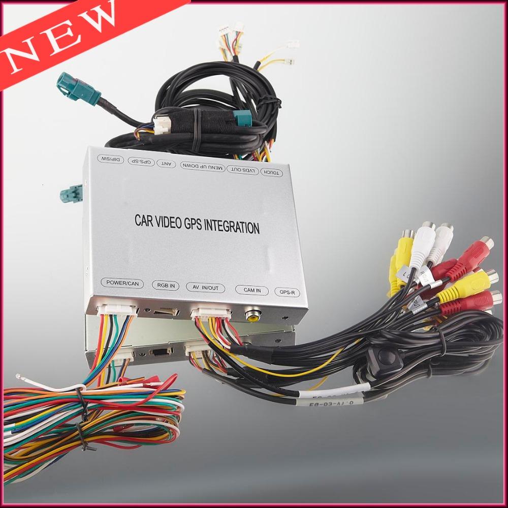 Car DVD Reverse Camera Interface For Ford Edge Fusion SMax MKX Explorer Mondeo Escape Kuga LincoIn Sync Systems GPS Navigation(China (Mainland))