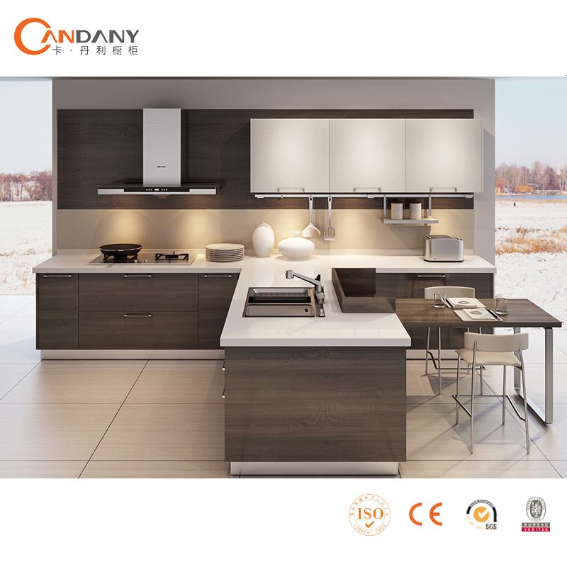 Customized Melamine Kitchen Cabinet CDY S001 InKitchen Cabinets