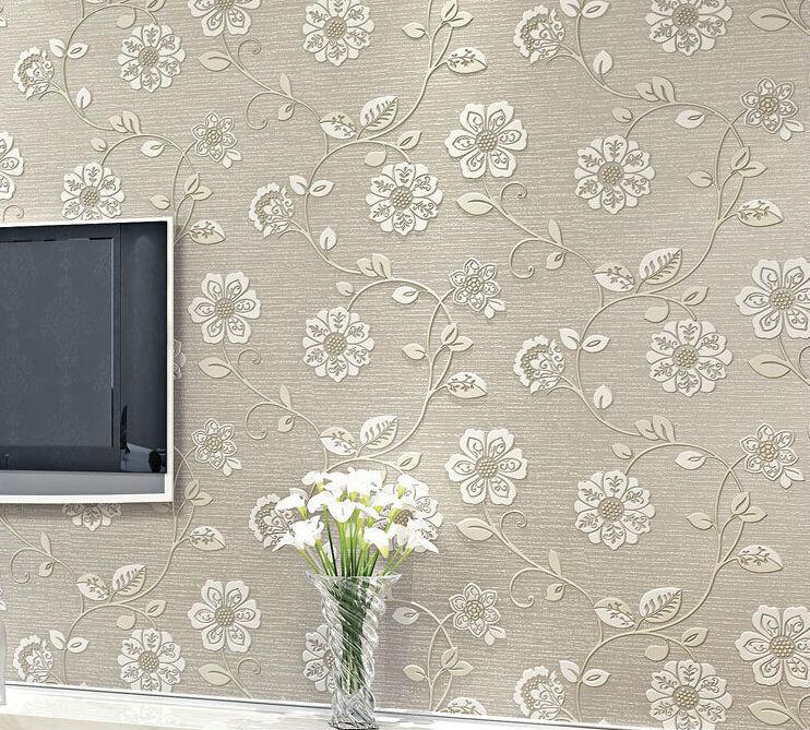 Quarto Com Papel De Parede Vintage ~ 3d papel de parede rolo papel de parede papel contact parede moderno