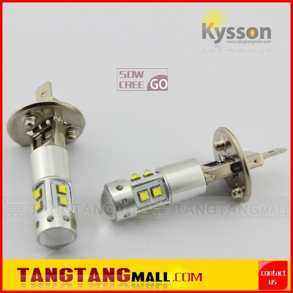 Kysson Wholesale 1 years warranty 50W h1 led auto fog light(China (Mainland))