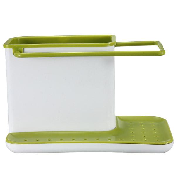 Practical Plastic Organizer Cabinet Kitchen Sink Caddy Storage Space Saver Drain Multifunctional Kitchen Sponge Drying Racks(China (Mainland))