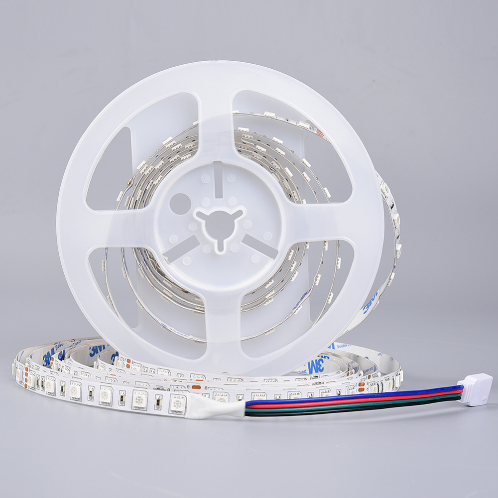 5m SMD 5050 Flexible LED Strip Light DC24V 60 leds/m Holiday Party Lighting Ledstrip Tape Lamp Home Decor IP20 IP65 IP66(China (Mainland))