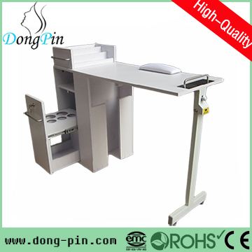 Used salon equipment manicure table supplier in nail for Mobile nail technician table