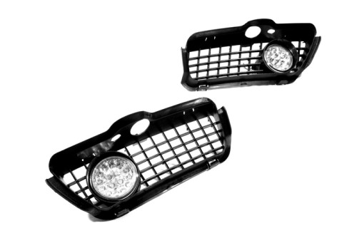 NEW Super Bright Front Fog Light Kit (Yellow LED) for Jetta / Vento MK3(China (Mainland))