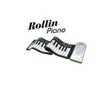 49 Keys Soft Silicone Portable Flexible Rollin Roll Up Electronic Keyboard Piano Organ,Brand New(China (Mainland))
