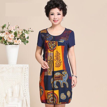 aliexpresscom buy dress for women middle age fashion
