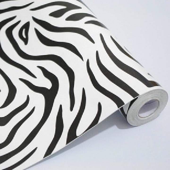 Promoci n de papel pintado de cebra de alta calidad for Papel pintado cebra