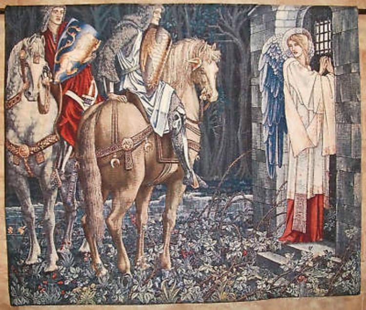 Mural decoration tapestries,