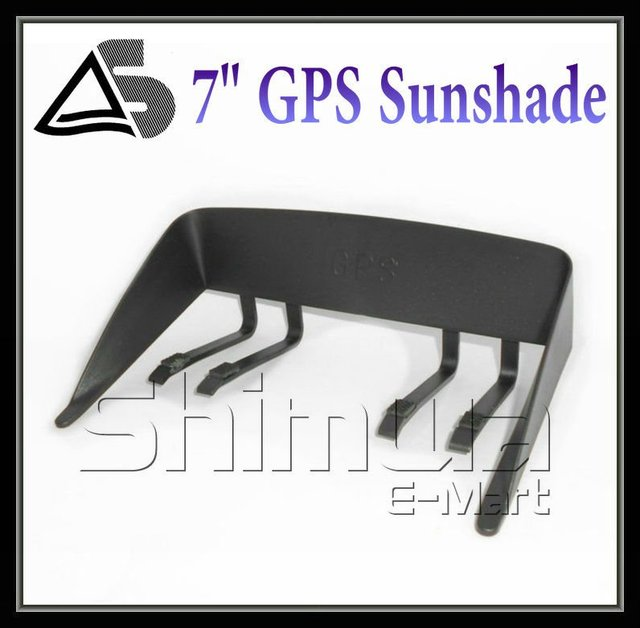 7 inch gps navigation Sunshade Resisting High&low Temperature Best Partner for Navigation Blocking the light