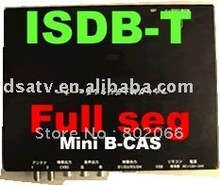 ISDB t receiver car  receiver set top box  Japan full seg  B-Cas(China (Mainland))