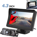 4 3 Inch TFT LCD HD Digital Panel Car Rearview Monitor Parking Reverse Auto Monitor 7