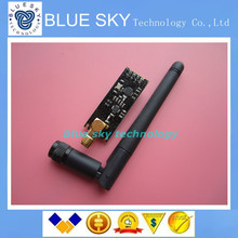 1pcs/lot Special promotions 1100-meter long-distance NRF24L01+PA+LNA wireless modules (with antenna)(China (Mainland))