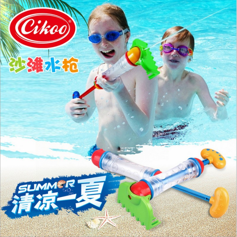 2017 Best Selling Bath Toys Realistic Water Gun Beach Toys Water Cannon CIKOO Sand Shovel and Rake as Water Toys and Sand Toys(China (Mainland))