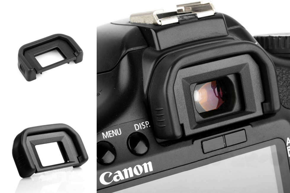 New Rubber Eyepiece Eye Patch For Canon EF 550D 500D 450D 1000D 400D Eyecup