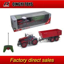 QYTOYS Rui Chuang 1:28 Multifuncional rc farm trailer tractor truck(China (Mainland))