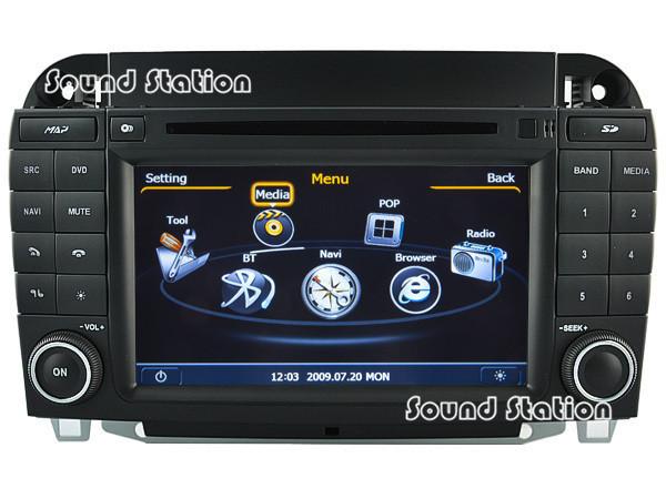 S Class W220 CL-W215 DVD GPS Radio For Mercedes Benz S Class W220 CL-W215 Car DVD GPS Navigation Radio Audio Video Monitor MP3(China (Mainland))