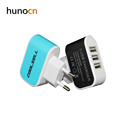 Hunocn 5V3.1A(Enough) Dual USB Car Charger with Cigarette Lighter Power Socket Adapter fast charger for Unviersal cellphone
