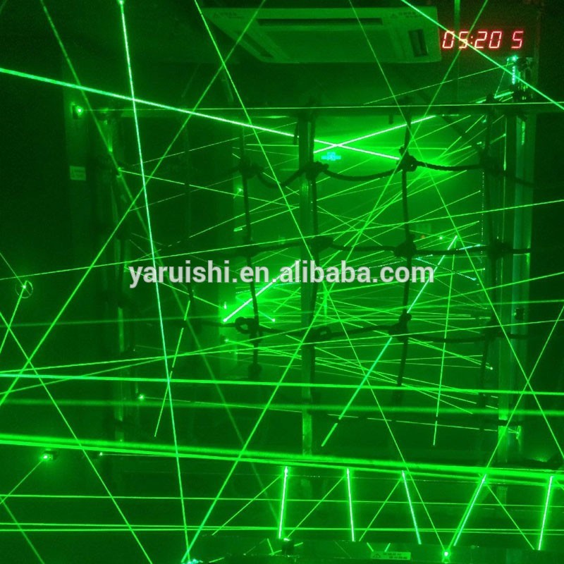 Russia Factory supply Human chamber of escape props/Room Escape props green laser module set Brazil(China (Mainland))