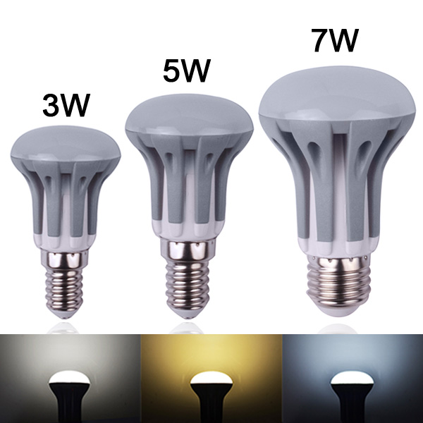 LED bulb E14 3W 5W,7W E27 Energy Saving LED bulb lamp light 220V 230V 240V SMD2835 warm white/white Free shipping R39 R50 R63(China (Mainland))