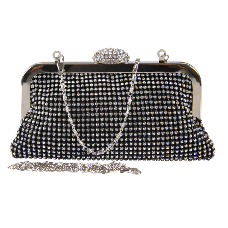 VEEVAN 2015 NEW brand Women clutch bag diamonds clutches party evening bags women handbag shoulder bags tote chain bag(China (Mainland))