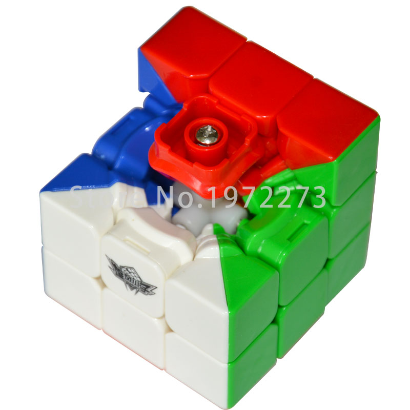 Magic Cobo Newest Cyclone Boys 3x3x3 Strengthened Version Magic Cube Stickerless Colorful Learning&Educational Cubo Magic Toys(China (Mainland))