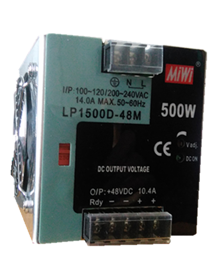 500W 48V 10.4A din rail switching power supply switching power supply with LED display monitor smps MDR-500-48<br><br>Aliexpress