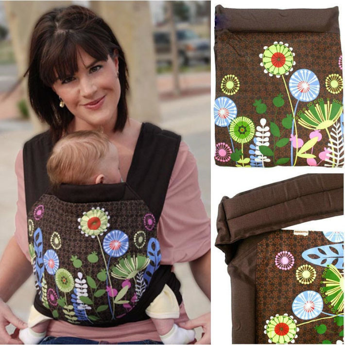 3 in 1 MEI TAI Baby Carrier Flower Embroidery Pattern Design Newborn Sling Wrap Front Back For Children(China (Mainland))