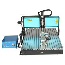 JFT Professional Wood Cutting Machine 3 Axis CNC Router with USB 2.0 Port Engraver Machine with High Precision Ball Screw 6090