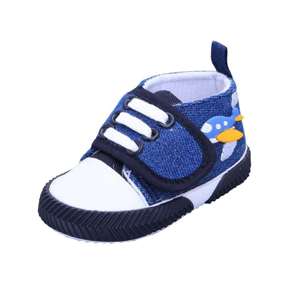 Toddler Prewalker Dirigible pattern Baby Shoes ventilate Canvas Soft Soled Anti-slip Shoes Gifts Cute Fashion(China (Mainland))