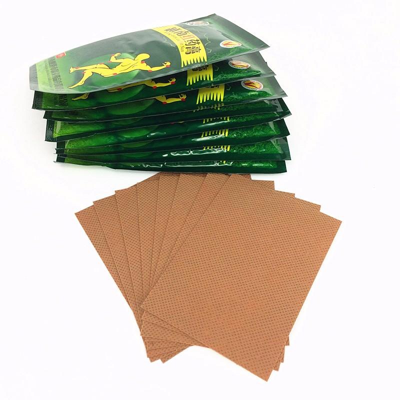 Bálsamo de Tigre vermelho Vietnam Gesso 16 pcs/2 bags Ombros Rígidos para Aliviar A Dor patch para a Dor Muscular dor zb Patch Alívio 7 cm * 10 cm