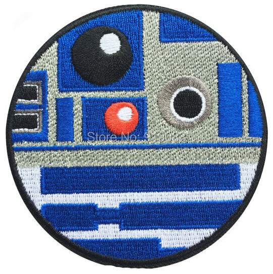 """3.75"""" Star Wars 7 VII The Force Awakens Rebel Bird Costume Embroidered iron on patch TRANSFER APPLIQUE(China (Mainland))"""