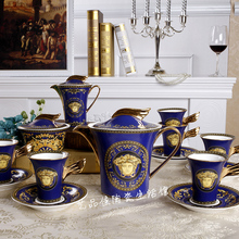 European royal style Bone China Tea Set coffee ceramic coffee cup and saucer sets porcelain gift sets