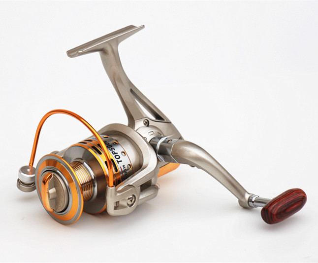 Quality Fishing Reel 5000 Metal Spinning 8BB TOP5000A Carp Fishing Tackle Feeder Carretilha Pesca Coil(China (Mainland))