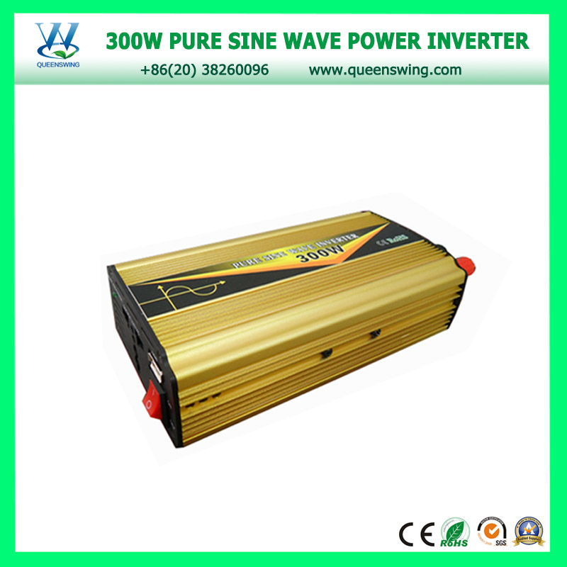 QUEENSWING IC-control 12vdc to 220vac 300w pure sine wave power inverter (QW-P300D)<br><br>Aliexpress
