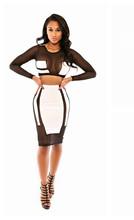 piece outfits bandage dress