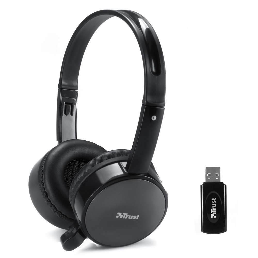universal 2.4G wireless Stereo computer/PC headphone earphone headset with mic skype facebook MSN Wireless chat Factory sales(China (Mainland))