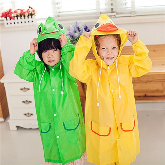 2016 Poncho New Waterproof Kids Rain Coat For children Raincoat Rainwear Rainsuit Kids boy girl Animal Style Raincoat HI07(China (Mainland))