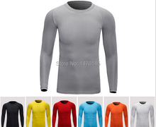 Free shipping outdoor subcoating new exercise wear Fitness T shirt Fast drying Training clothes to wear