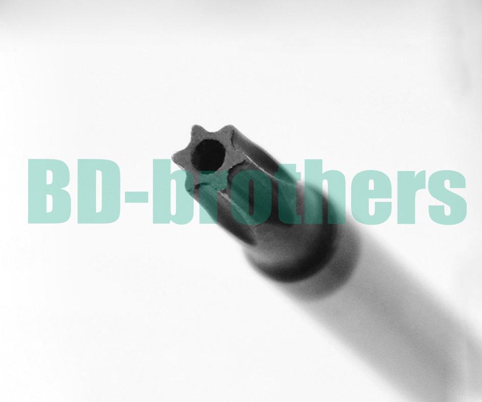 Colorful Bar PVC Handle Torx T30 T30H  with Hole Screwdriver Screwdrivers Repair Tool 120pcs/lot<br><br>Aliexpress