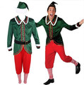 christmas elf adult costume funny christmas costumes for men funny halloween costumes for men party clothes